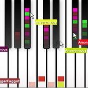 Скрин игры Пианино ио