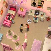 Скрин игры Симс 4 комнаты