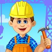 Скрин игры Строительство домов