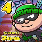 Скрин игры Воришка Боб 4: Япония