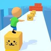 Скрин игры Куб серфер