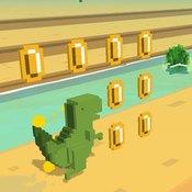 Скрин игры Дино 3д