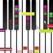 Скрин игры Пианино мультиплеер
