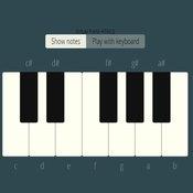 Скрин игры Пианино на клавиатуре