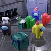 Скрин игры Амонг ас 3д