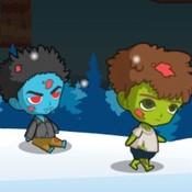 Скрин игры Дружные зомби на 3 человека