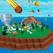 Скрин игры Роблокс Выживание на острове