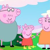 Скрин игры Свинка Пеппа на 3