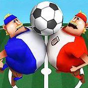 Скрин игры Футбол на 3 игрока
