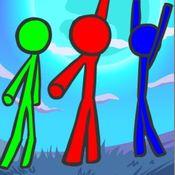Скрин игры Стикмен на троих