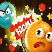 Скрин игры Война бургеров на четверых