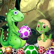 Скрин игры Собери динозавров