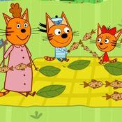 Скрин игры Три кота для детей