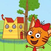 Скрин игры Три кота: Кукольный домик