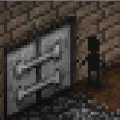 Скрин игры Пиксельный хоррор