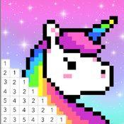 Скрин игры Раскраска по номерам без интернета