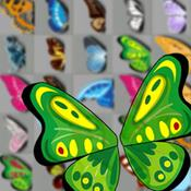Скрин игры Маджонг бабочки