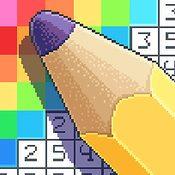 Скрин игры Раскраска: Цвета по номерам