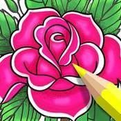 Скрин игры Раскраска по номерам: Цветок