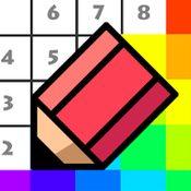 Скрин игры Раскраска по номерам по цифрам