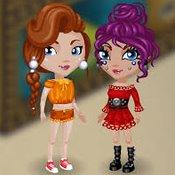 Скрин игры Ава сити: Яркие девчонки